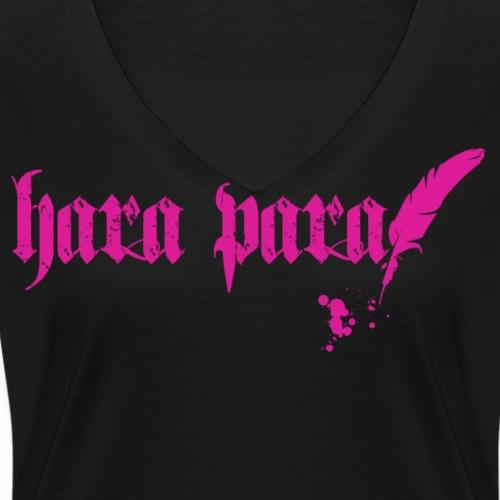 Hara Para Pink png - Frauen Bio-T-Shirt mit V-Ausschnitt von Stanley & Stella