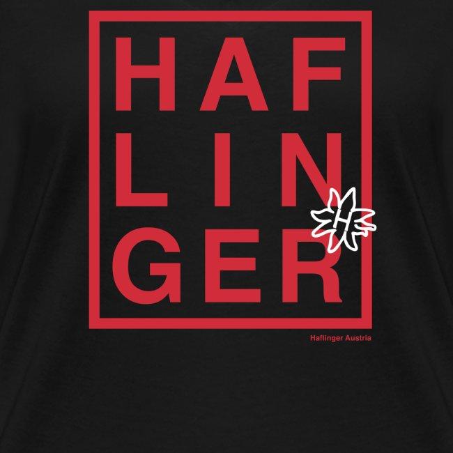 Haflinger Schriftzug / Pferd