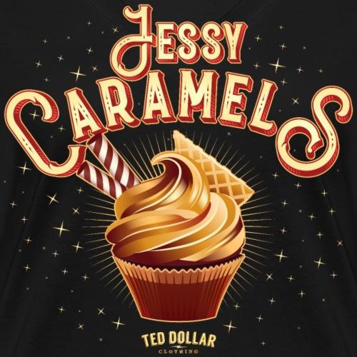 Jessy Caramels - T-shirt bio col V Stanley & Stella Femme