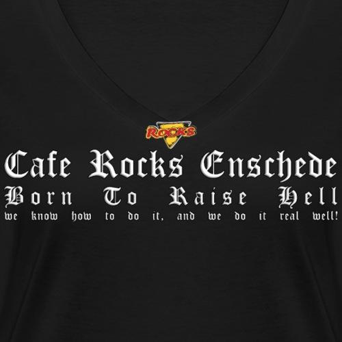 Born To Raise Hell - Vrouwen bio T-shirt met V-hals van Stanley & Stella