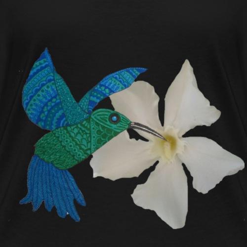 Kolibri - Frauen Bio-T-Shirt mit V-Ausschnitt von Stanley & Stella