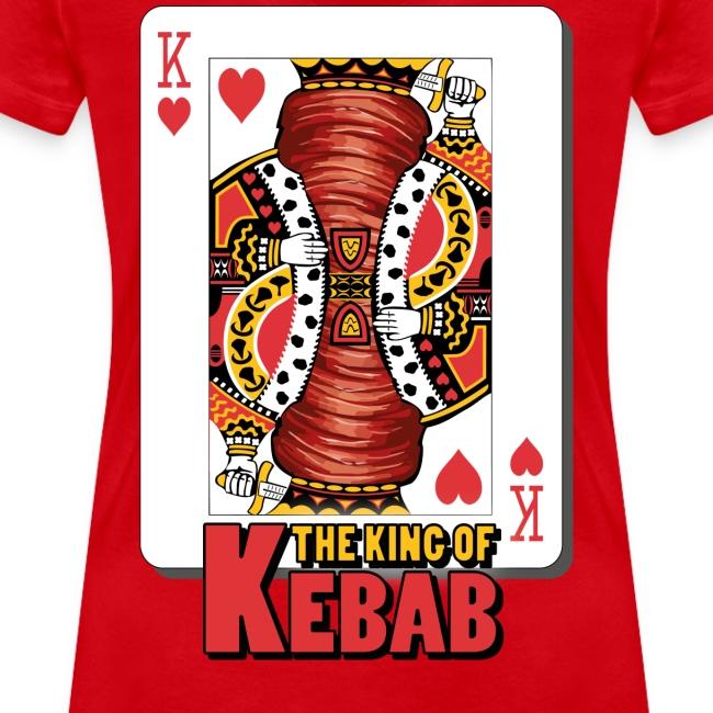 The King Of Kebab (Cotto & Frullato) T-Shirt Uomo