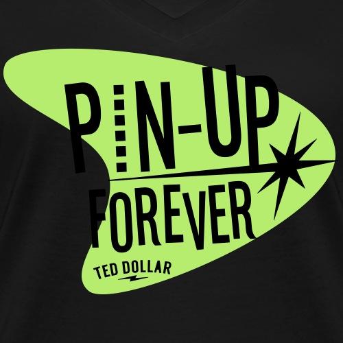 Pin-up Forever - T-shirt bio col V Stanley & Stella Femme