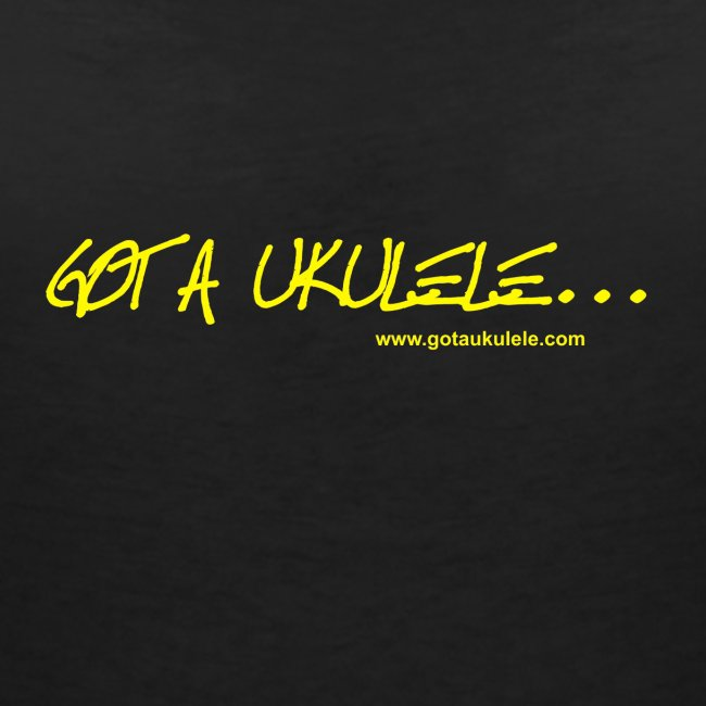 Official Got A Ukulele website t shirt design