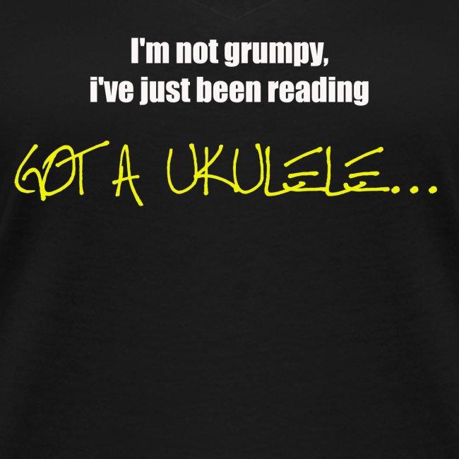 Got A Ukulele Grumpy