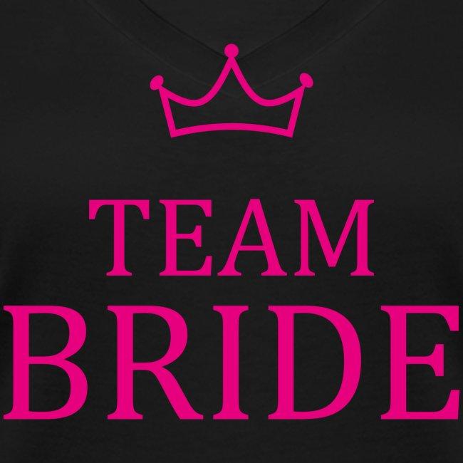 Team Bride Krone Pink JGA Junggesellenabschied