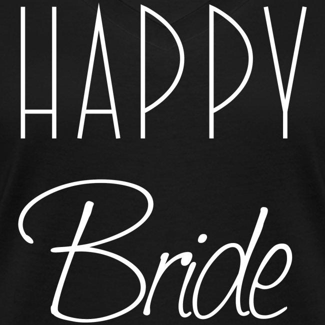 Happy Bride Braut