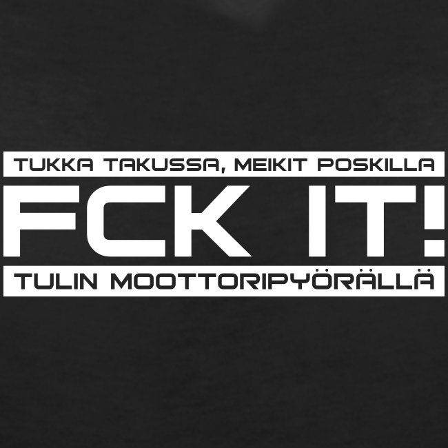 FCK IT! Tulin moottoripyörällä