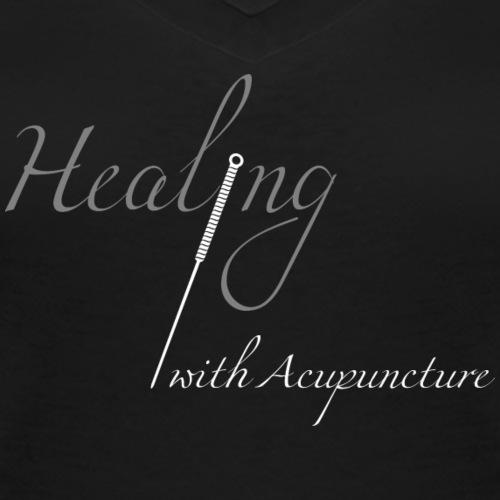Healing with acupuncture - T-shirt bio col V Stanley & Stella Femme