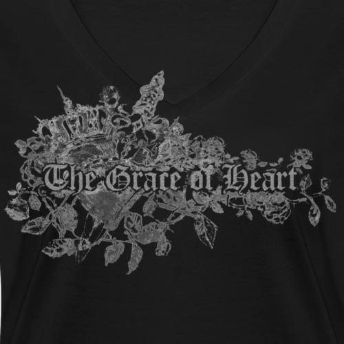 2015heart - Frauen Bio-T-Shirt mit V-Ausschnitt von Stanley & Stella