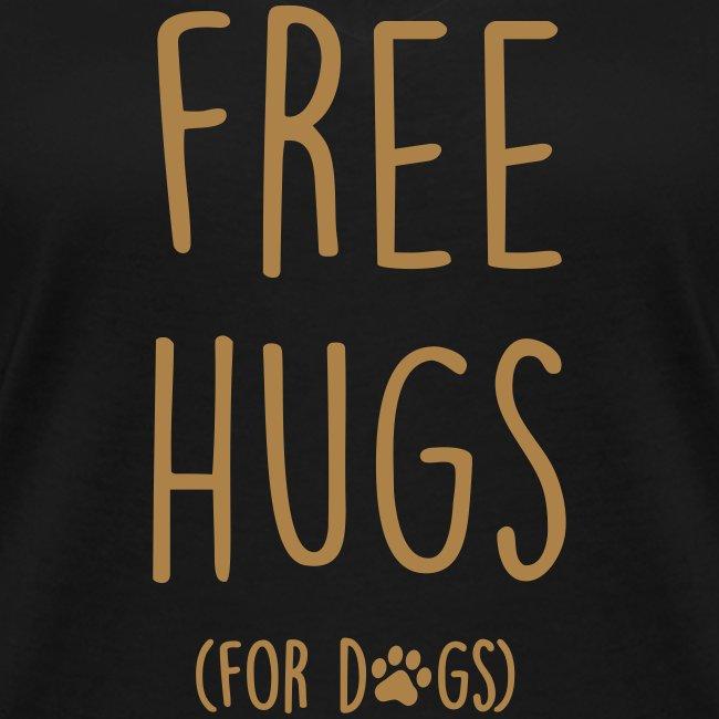 Vorschau: free hugs for dogs - Frauen Bio-T-Shirt mit V-Ausschnitt von Stanley & Stella