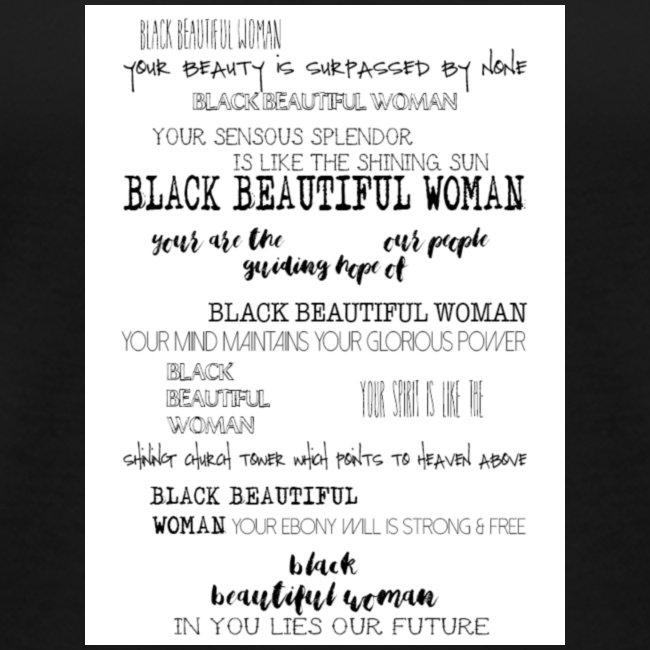 Beautiful Black Woman