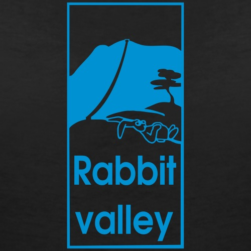rabbitvalley - Frauen Bio-T-Shirt mit V-Ausschnitt von Stanley & Stella