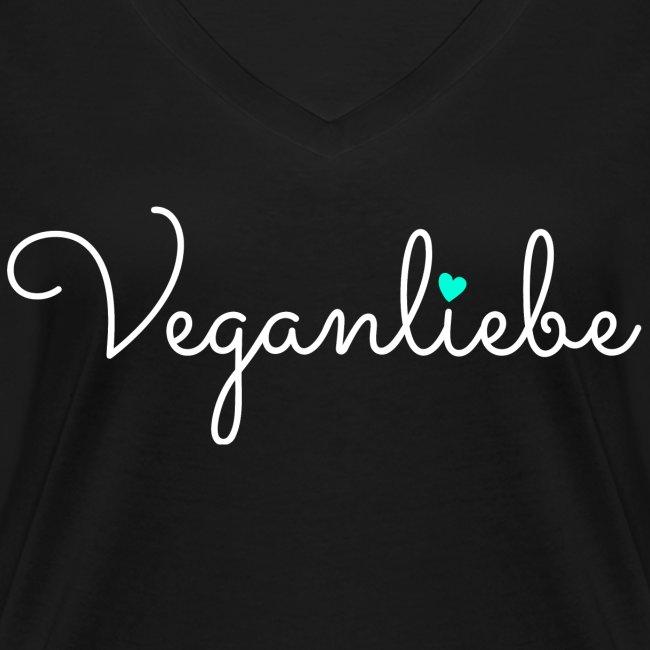 Veganliebe Logo Schriftzug für Veganer