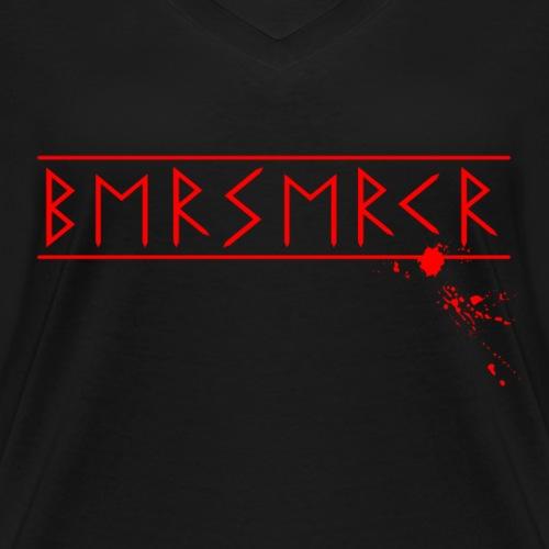 Berserkr - Runenschrift - altes Futhark - Frauen Bio-T-Shirt mit V-Ausschnitt von Stanley & Stella
