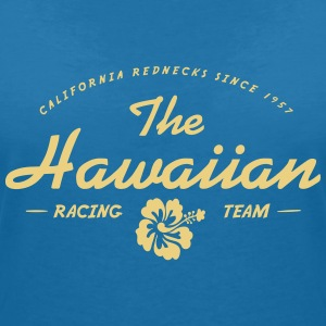 Hawaiian Racing - T-shirt med v-ringning dam