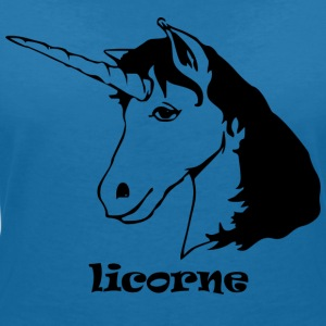 French Unicorn - Women's V-Neck T-Shirt