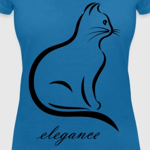 More than just a silhouette - Women's V-Neck T-Shirt