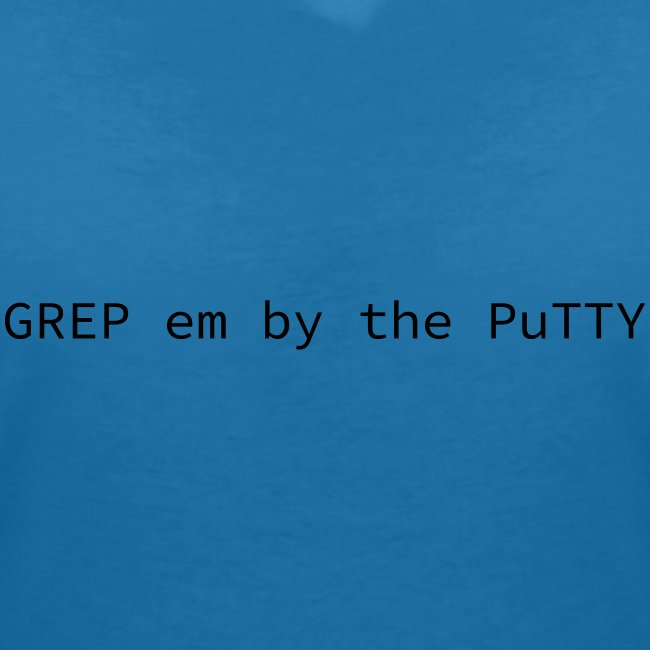GREP em by the PuTTY