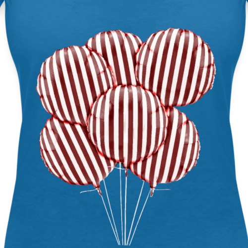 palloncini - T-shirt ecologica da donna con scollo a V di Stanley & Stella