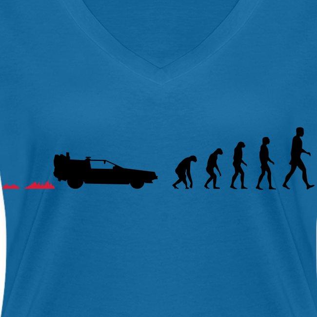 Time travel evolution