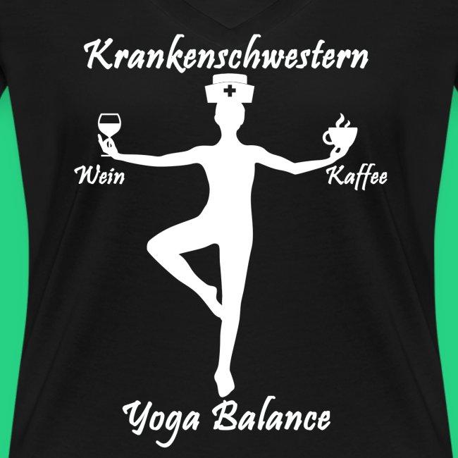 Krankenschwestern Yoga