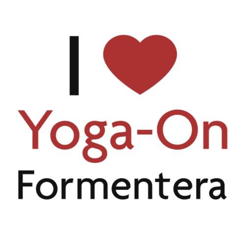 I Love Yoga On Formentera - Frauen Bio-T-Shirt mit V-Ausschnitt von Stanley & Stella