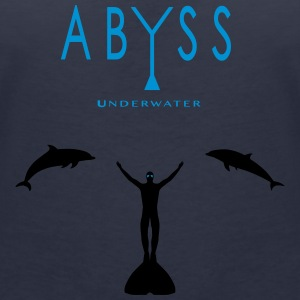 ABYSS - Women's V-Neck T-Shirt