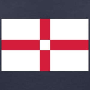 National Flag Of England - Dame-T-shirt med V-udskæring