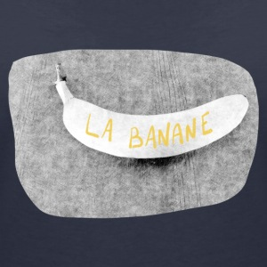 The banana - Women's V-Neck T-Shirt