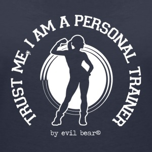 PERSONAL TRAINER 04 - T-shirt col V Femme