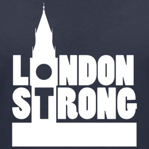 London Strong II - Women's V-Neck T-Shirt