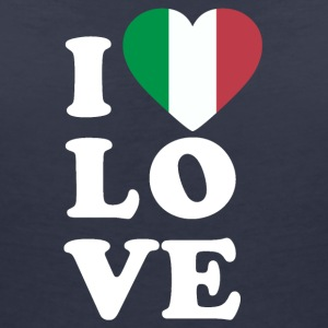 I love Italy - Women's V-Neck T-Shirt
