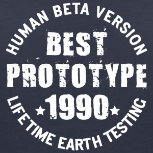 1990 - The birth year of legendary prototypes - Women's V-Neck T-Shirt