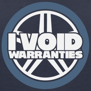 Mechanic: I void warranties. - Women's V-Neck T-Shirt