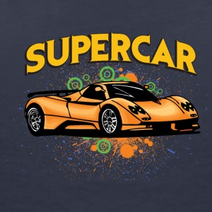 Supercar - Women's V-Neck T-Shirt