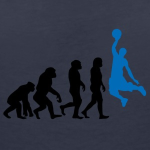 ++ Basketball Slam Dunk Evolution ++ - T-shirt col V Femme