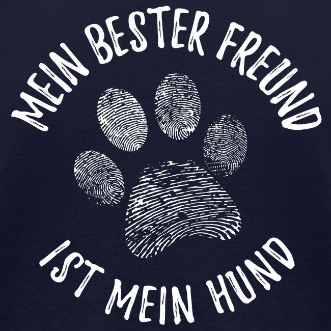 Vorschau: Mein Hund Bester Feund - Frauen Bio-T-Shirt mit V-Ausschnitt von Stanley & Stella