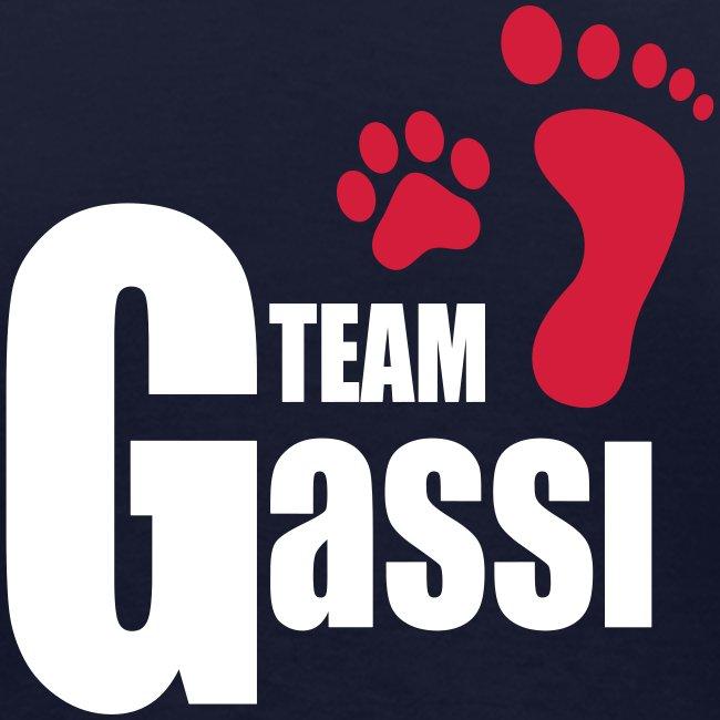Vorschau: Team Gassi - Frauen Bio-T-Shirt mit V-Ausschnitt von Stanley & Stella