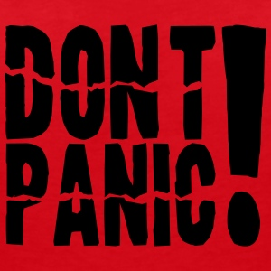 Do not panic - Women's V-Neck T-Shirt