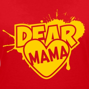 Dear mama - Women's V-Neck T-Shirt