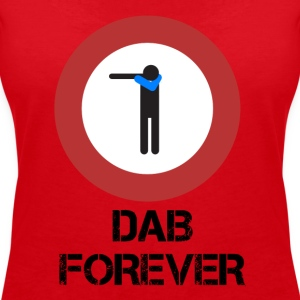 DAB ALT / Prohibited dabbare - Women's V-Neck T-Shirt