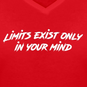 limits - Women's V-Neck T-Shirt