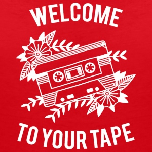 Welcome to your tape - Frauen T-Shirt mit V-Ausschnitt