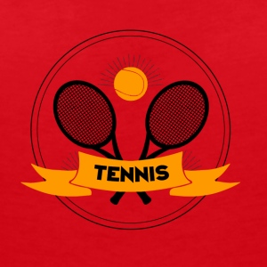 Tennis Logo - Women's V-Neck T-Shirt
