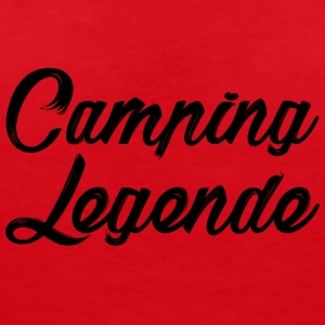 Camping legend - Women's V-Neck T-Shirt