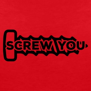 Mechanic: Screw You - Women's V-Neck T-Shirt
