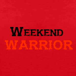Shirt Weekend Warrior Wochenende Party - Frauen T-Shirt mit V-Ausschnitt