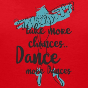 Take more dance - Women's V-Neck T-Shirt