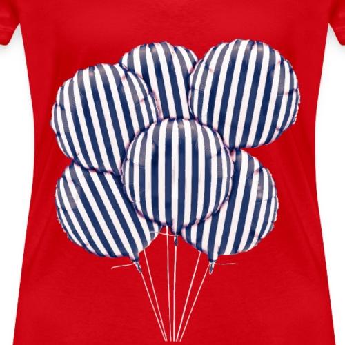 blue Balloon - T-shirt ecologica da donna con scollo a V di Stanley & Stella